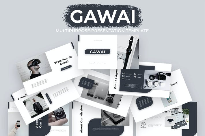 Cover Image For Gawai - Multipurpose Business Keynote Presentation