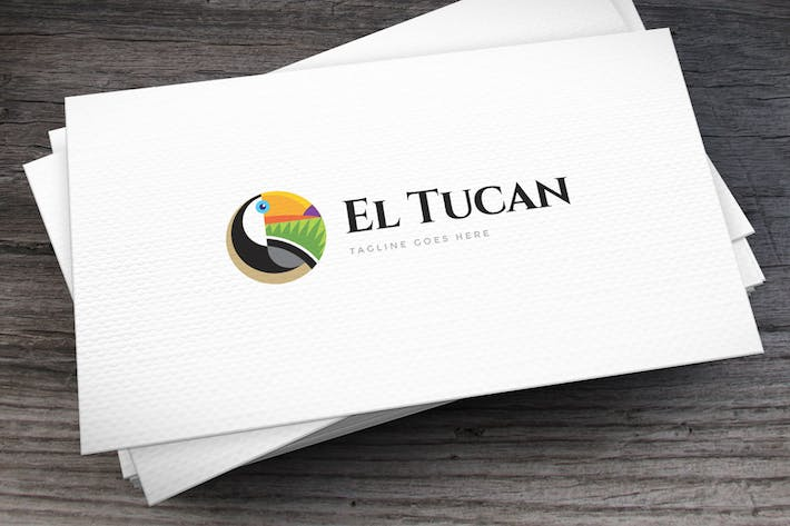 Thumbnail for Toucan Logo Template