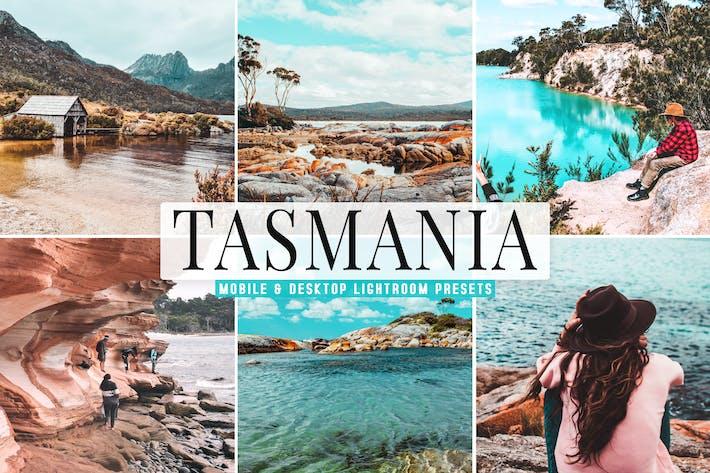 Thumbnail for Tasmania Mobile & Desktop Lightroom Presets
