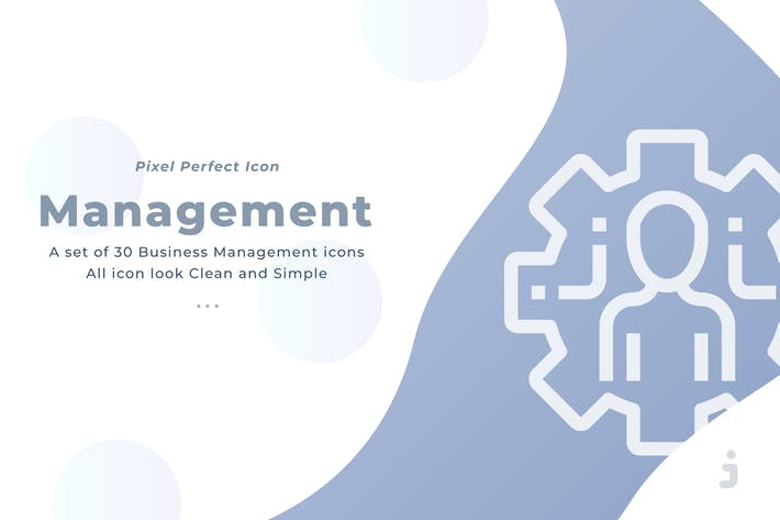 Thumbnail for 30 Business Management icons