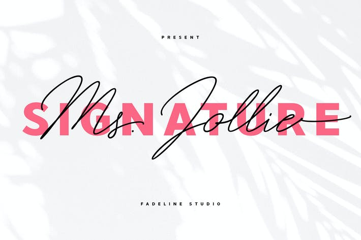 Thumbnail for Ms. Jollie Signature