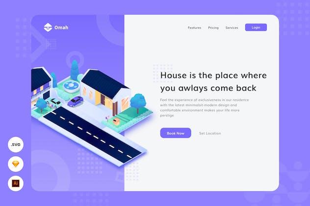 Always Like Home - Website Header - Illustration