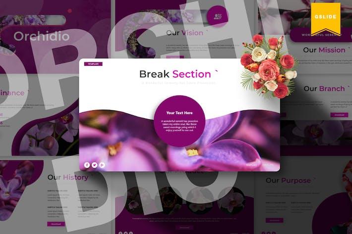 Thumbnail for Orchidio | Plantilla de Diapositivas de Google