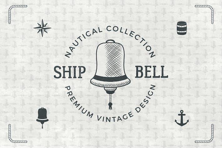 Thumbnail for Vintage Nautical Logo / Retro Badge Collection