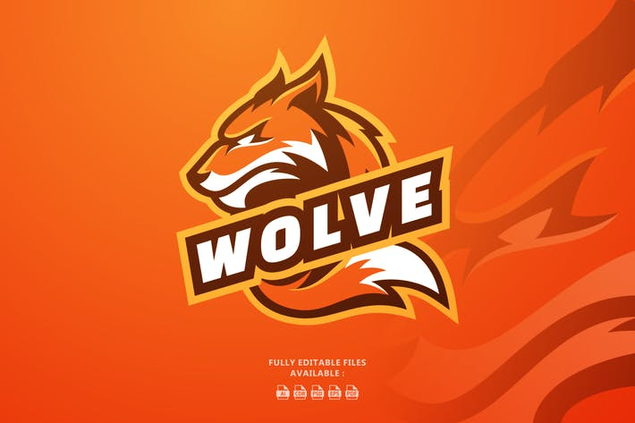 Wolf Sports and E-sports Logo