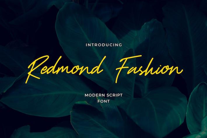 Police de script manuscrite Redmond Fashion