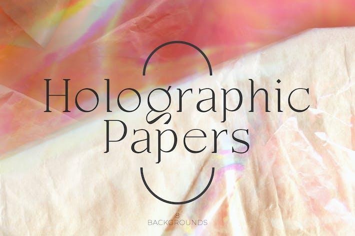 Papeles holográficos