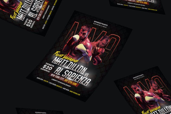 Thumbnail for MMA Flyer