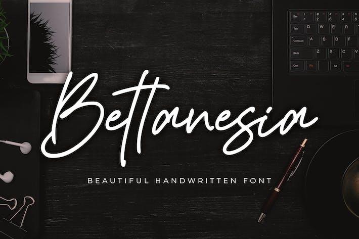 Thumbnail for Bettanesia - Hermoso escrito a mano