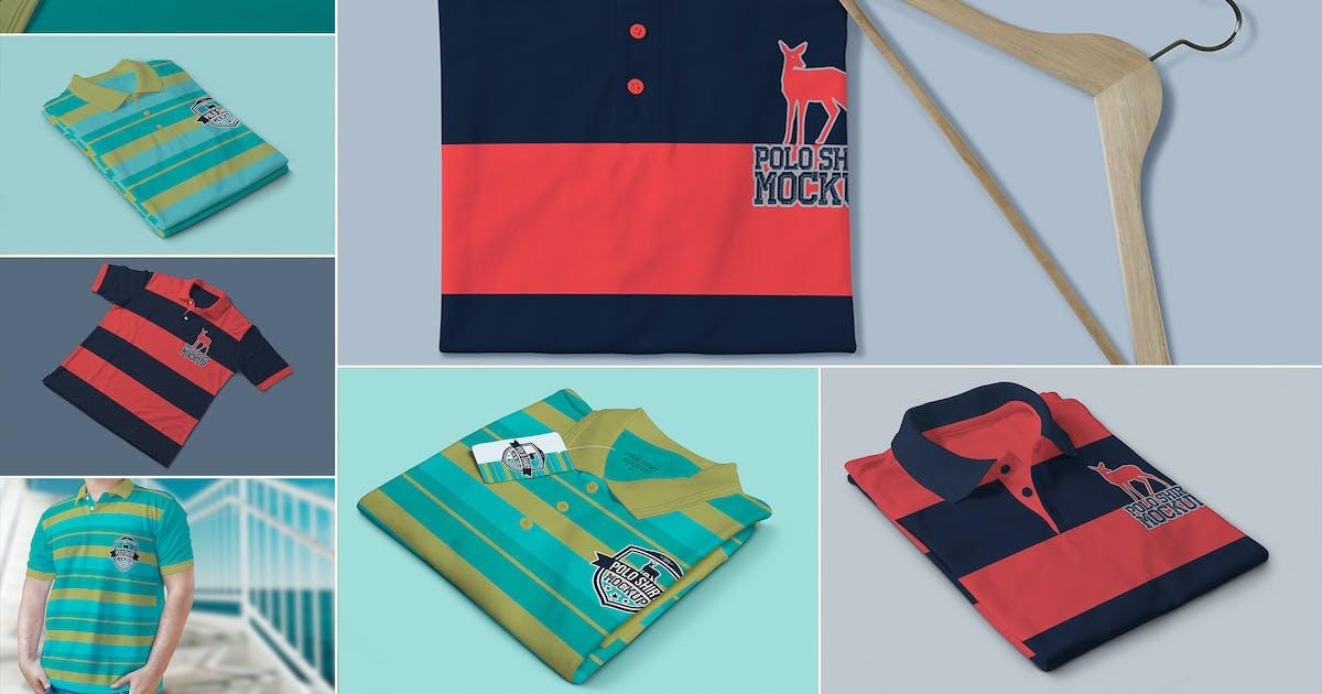 Download Polo Shirt Mockups by zippypixels