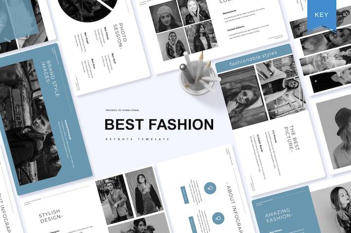 Thumbnail for Лучшая мода | Шаблон Keynote