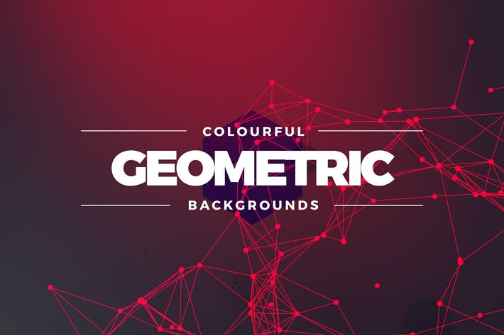 Thumbnail for Geometric Colors Background