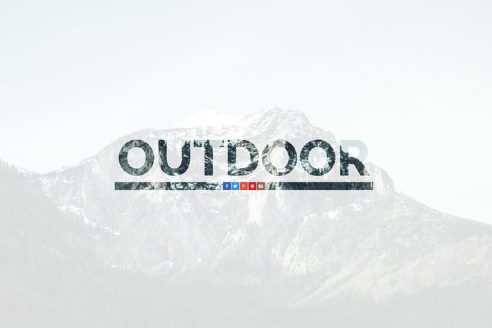 Thumbnail for Outdoor — OnePage Responsive Template
