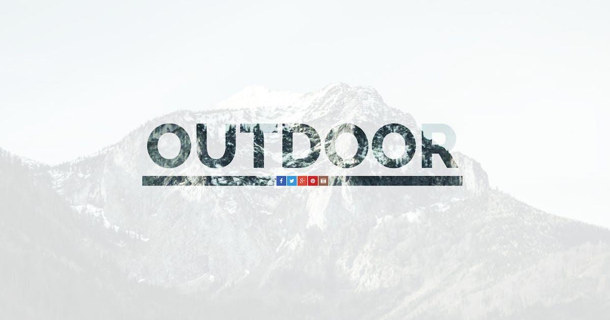 Download Outdoor — OnePage Responsive Template by WpWay_