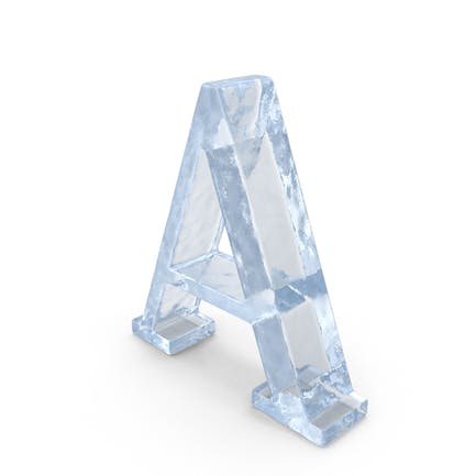 Ice Capital Letter A