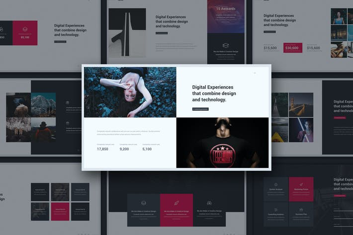 Thumbnail for The Limited Minimal Template (Powerpoint)