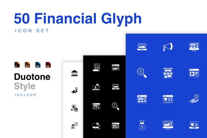 Thumbnail for Finance Business Icon