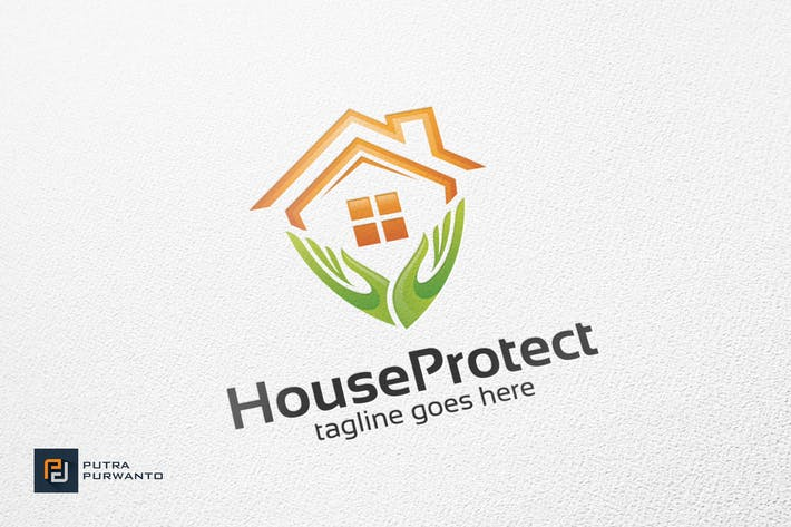 Thumbnail for House Protect - Logo Template