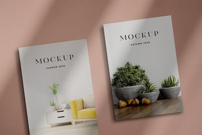 Magazine Mockup Scenes