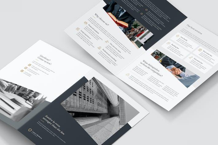 Brochure – Lawyer Bi-Fold