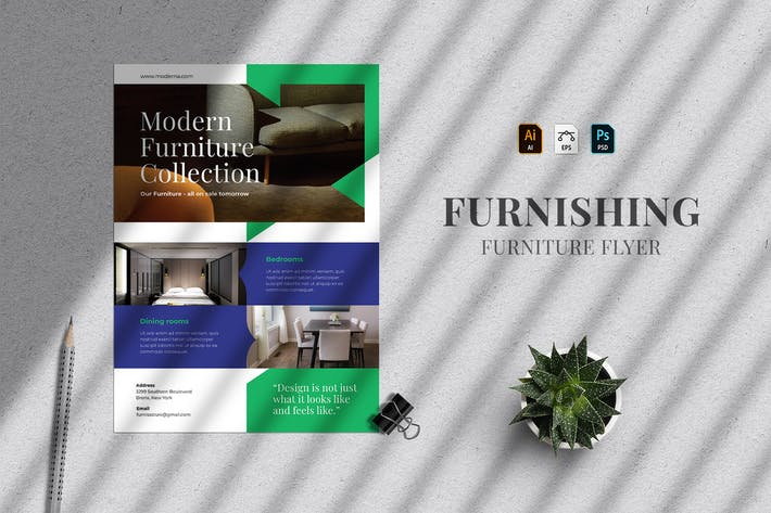 Furnishing - Furniture Flyer Template 25