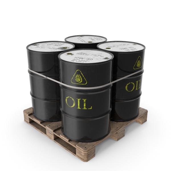 Barrels on a Pallet