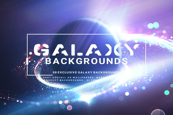 Cover Image For Galaxy Backgrounds