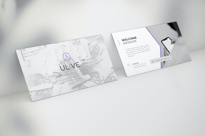 Thumbnail for Ulive - Insurance Google Slide Template
