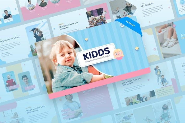 Thumbnail for Kidds - Kidds & Baby Keynote вая презентация