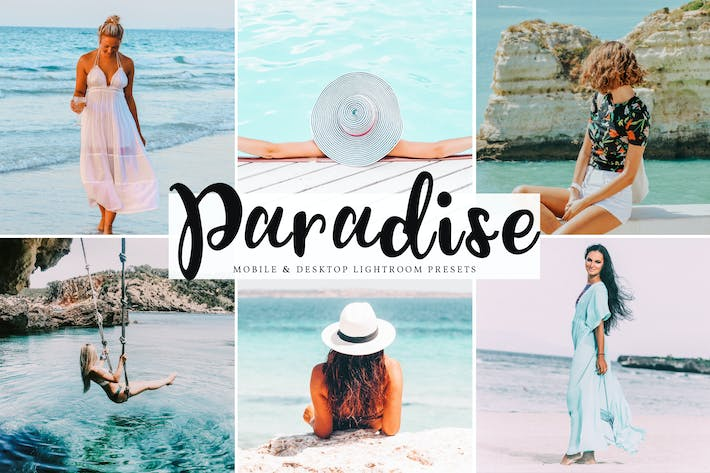 Thumbnail for Paradise Mobile & Desktop Lightroom Presets