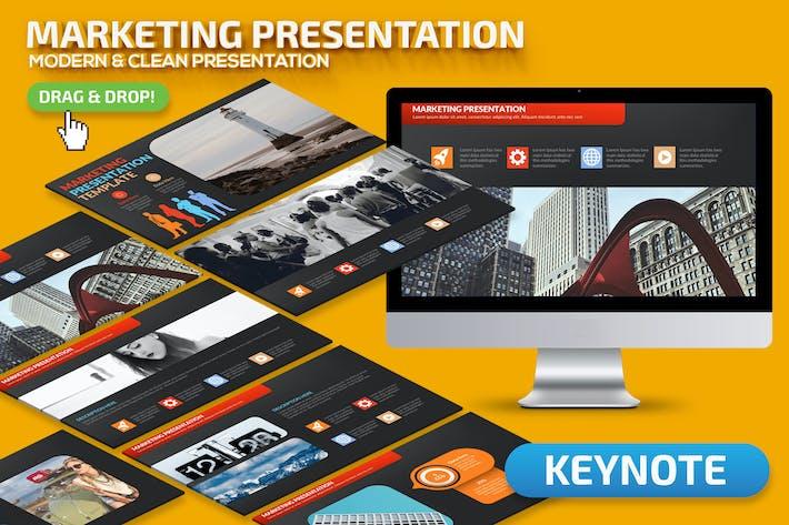 Thumbnail for Презентация Keynote докладов по маркетингу