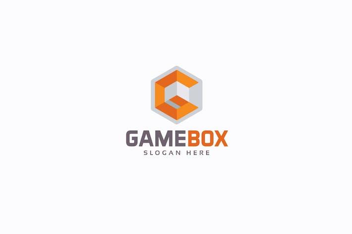 Cubical Letter G Logo