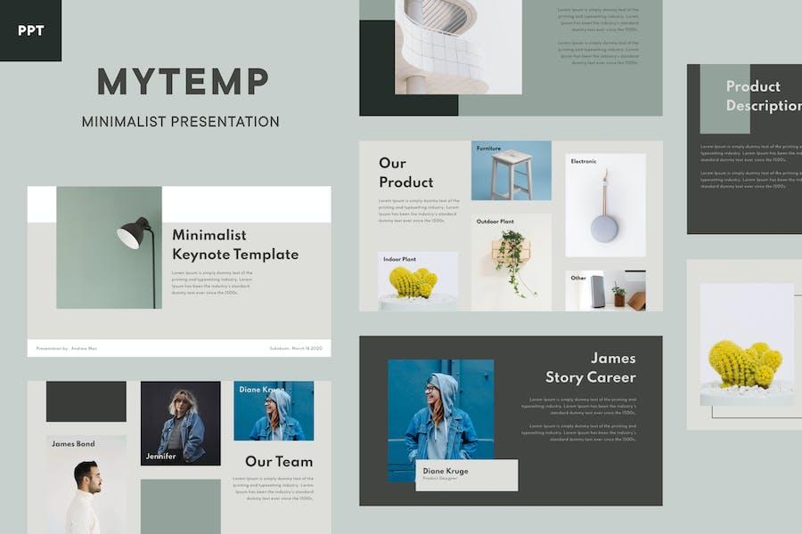Mytemp - Minimalist PowerPoint Template