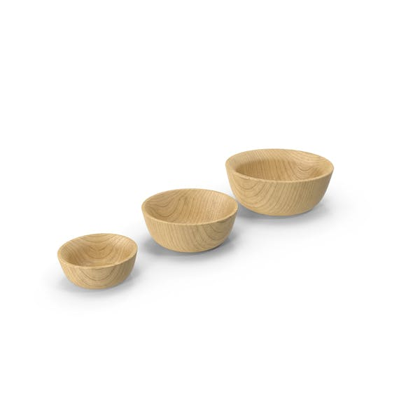 Cover Image for Bamboo Bowl Set