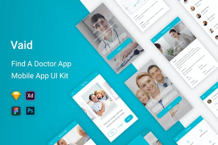 Vaid - Find A Doctor UI Kit