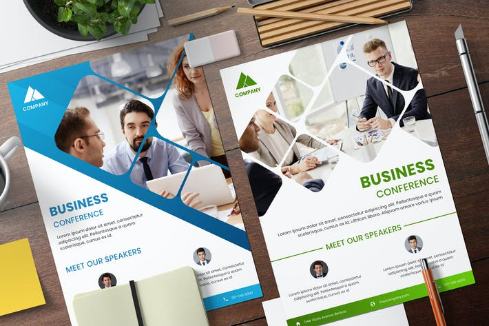 Thumbnail for Business Conference Flyer Template