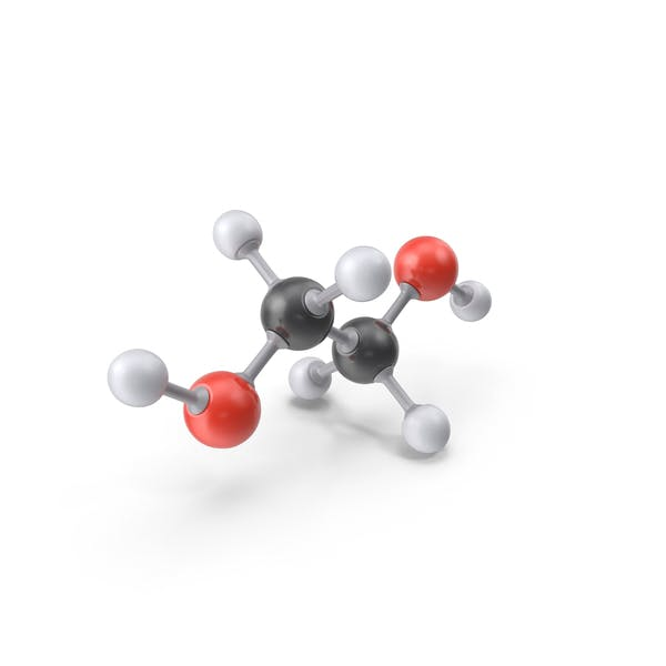 Cover Image for Ethylene Glycol Molecule