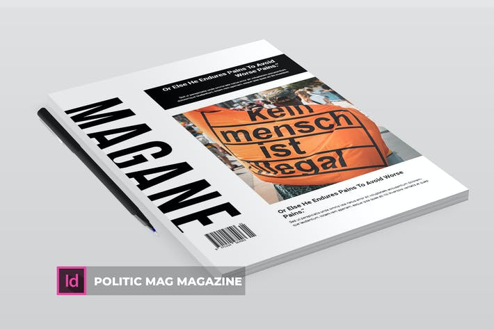 Thumbnail for Politic Mag | Magazine Template