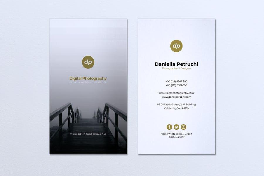 Minimalist Business Card Vol. 43 - product preview 0