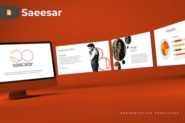 Cover Image For Saeesar - Google Slides Template
