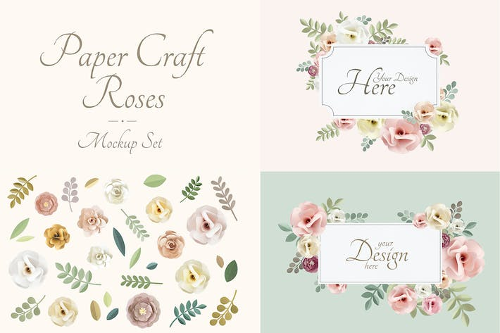 Cover Image For Wedding Card Mockup