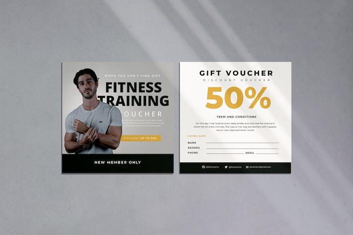 Thumbnail for Fitness Training Voucher