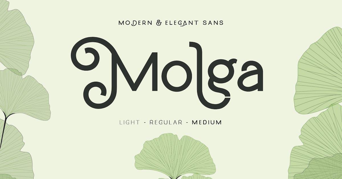 Download Molga font by creativemedialab