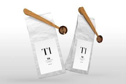 Tea Packaging Mockups