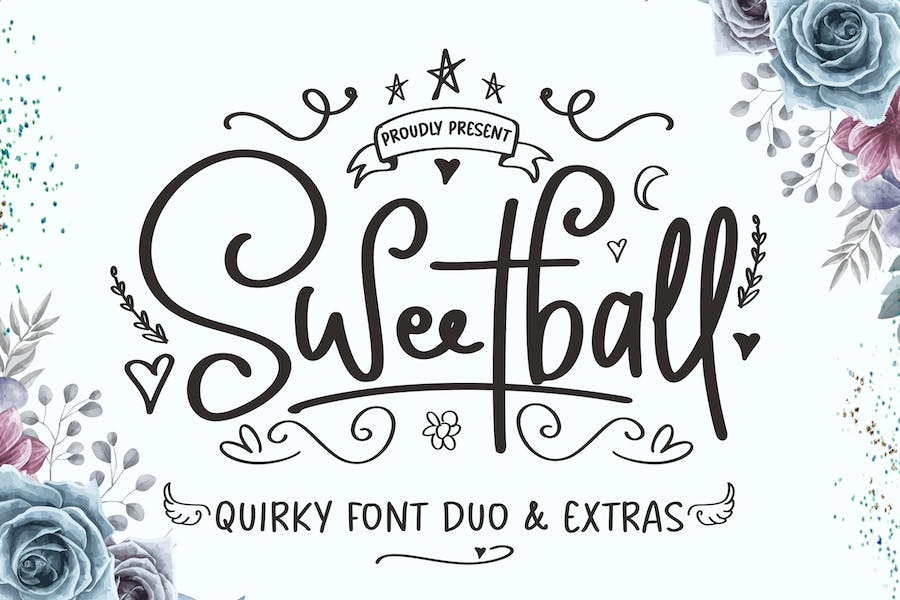 Sweetball Craft Font Duo