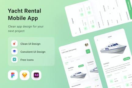 Yacht Rental Mobile App