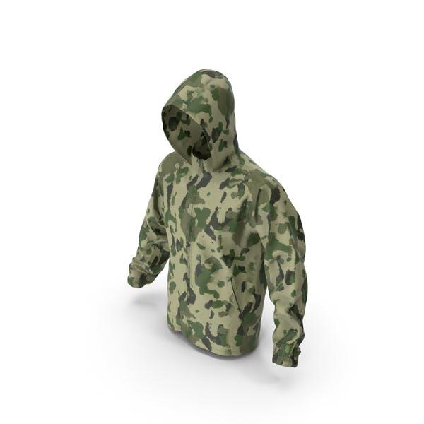 Green Military Jacket Hood