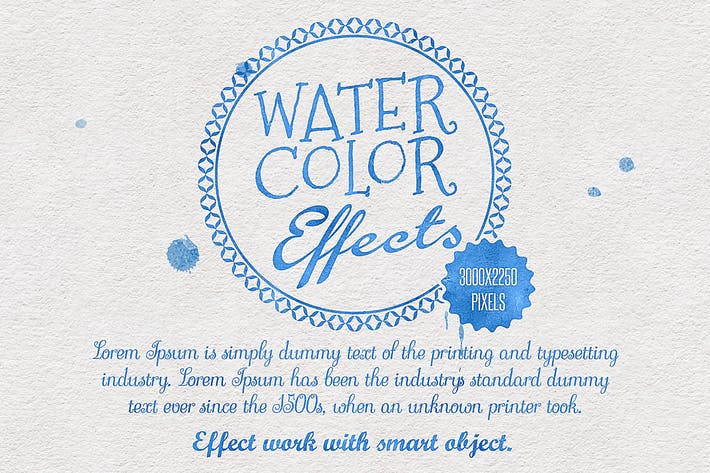 Thumbnail for Water Color Effects