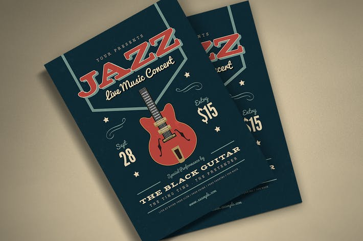 Thumbnail for Musik-Jazz Flyer/Poster