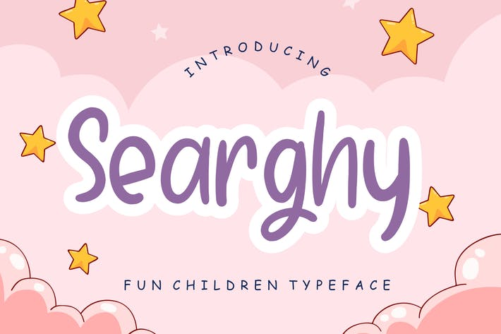Thumbnail for Searghy Fun Children Typeface